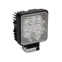 BOUWLAMP LED 27W 1800LM 4000K IP67 9-30VDC ZWART