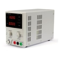 LABORATORIUMVOEDING 0-30V / 5A DUBBELE LCD DISPLAY