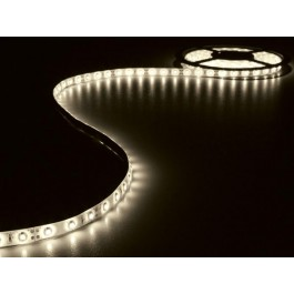 LED STRIP WARM WIT 5M 300 LEDS IP61 ZELFKLEVEND INCL. 12VDCADAPTER
